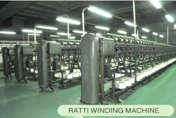 RATTI WINDING MACHINE